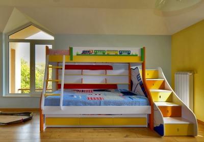 Patrové postele promění pokoj v dobrodružné hřiště