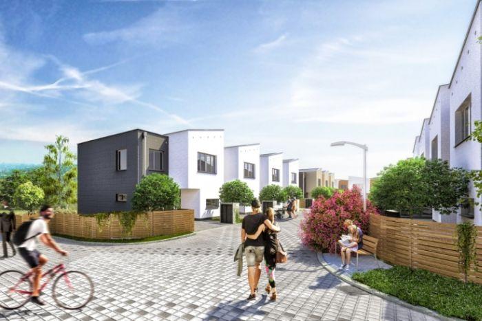 Rodinné domy ve Štěrboholech v rámci projektu Malý háj od developera FINEP