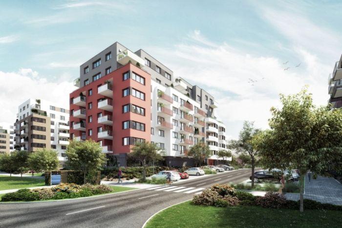Bytový komplex Malý háj mezi Štěrboholy a Dolními Měcholupy