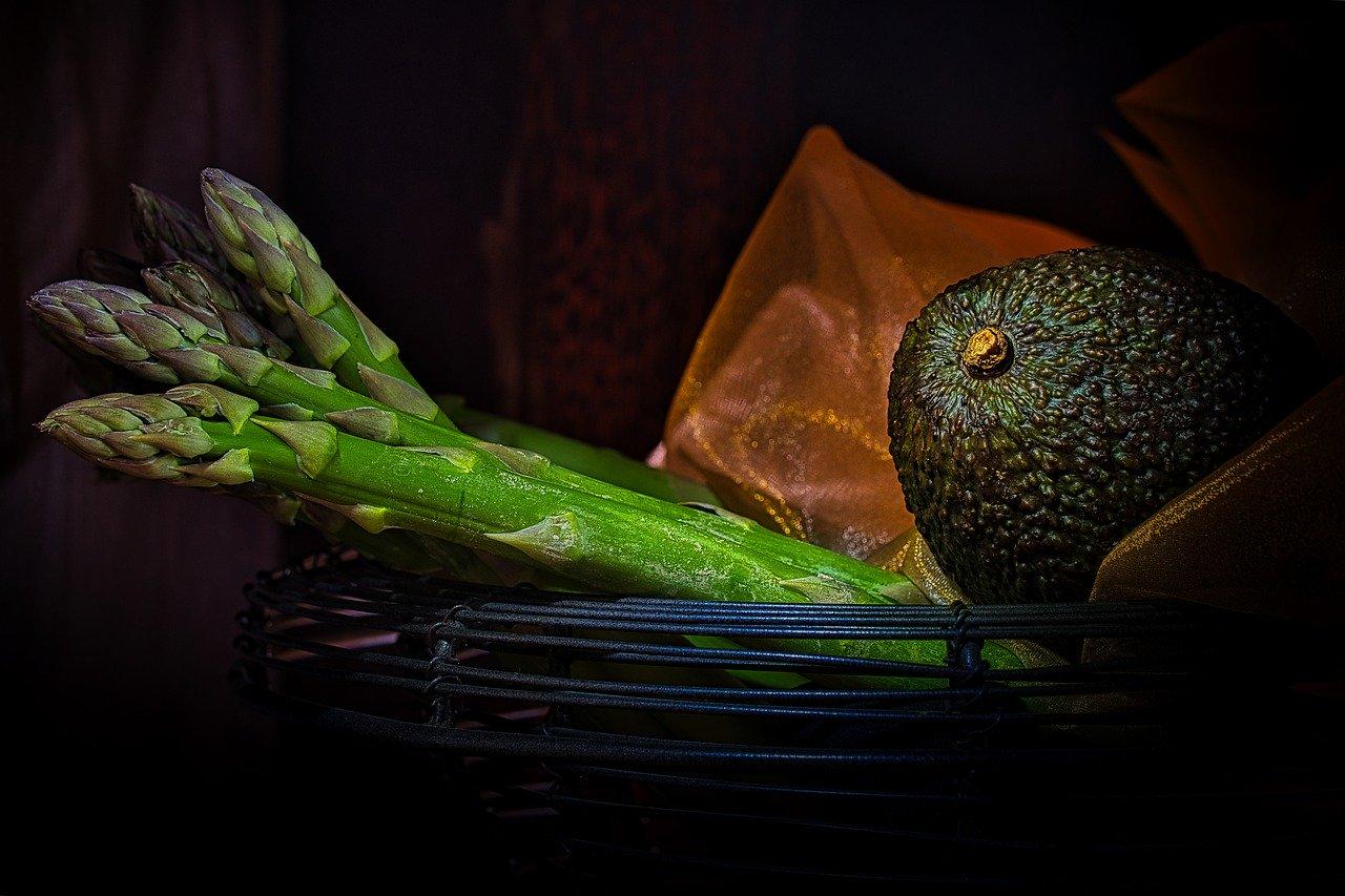 Avocado Asparagus Vegan Vegetables