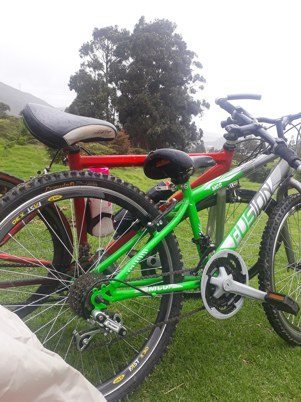 Bike Park Cyclist Bicycles Cycling