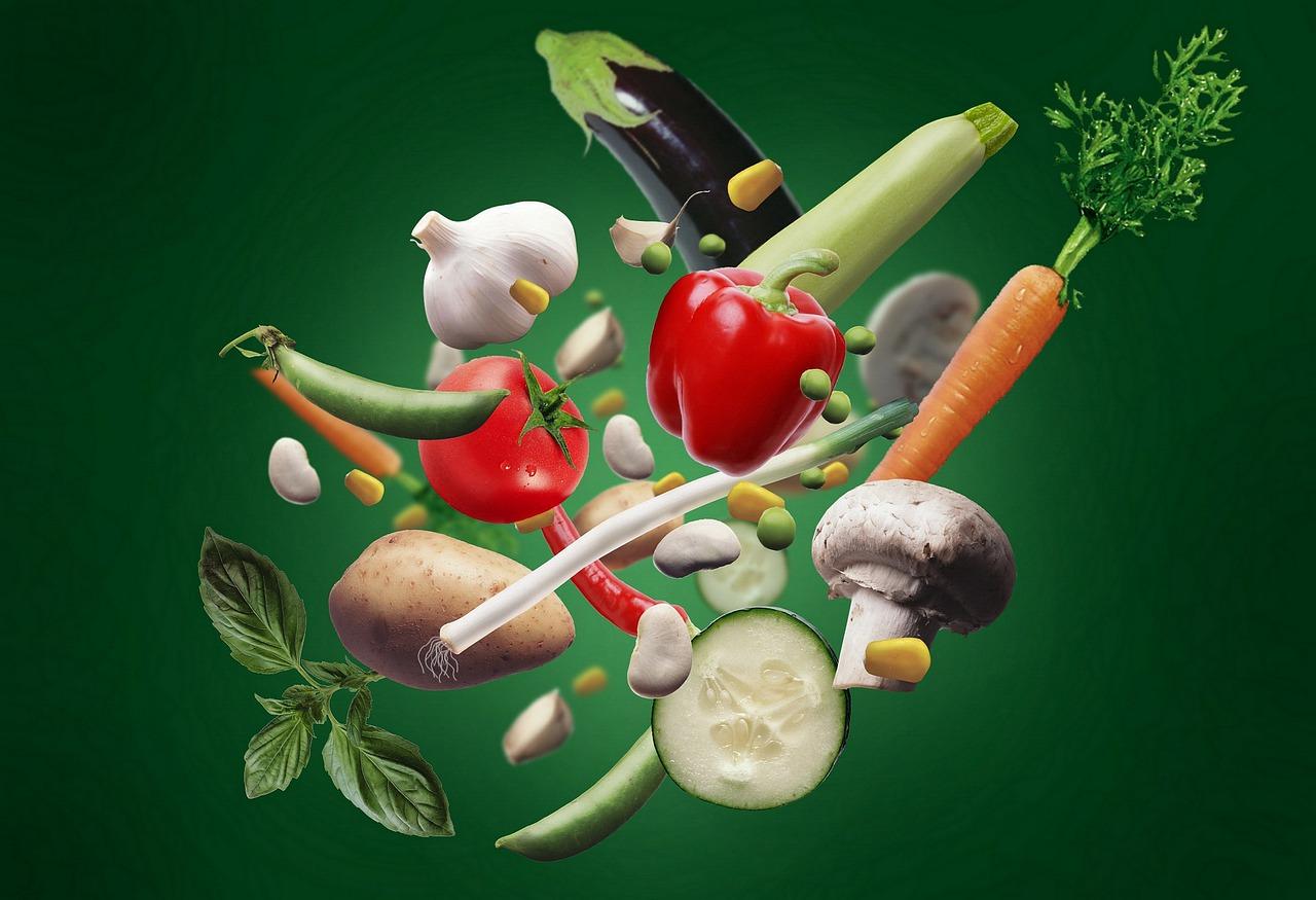 Vegetables Veges Vegetarian Food