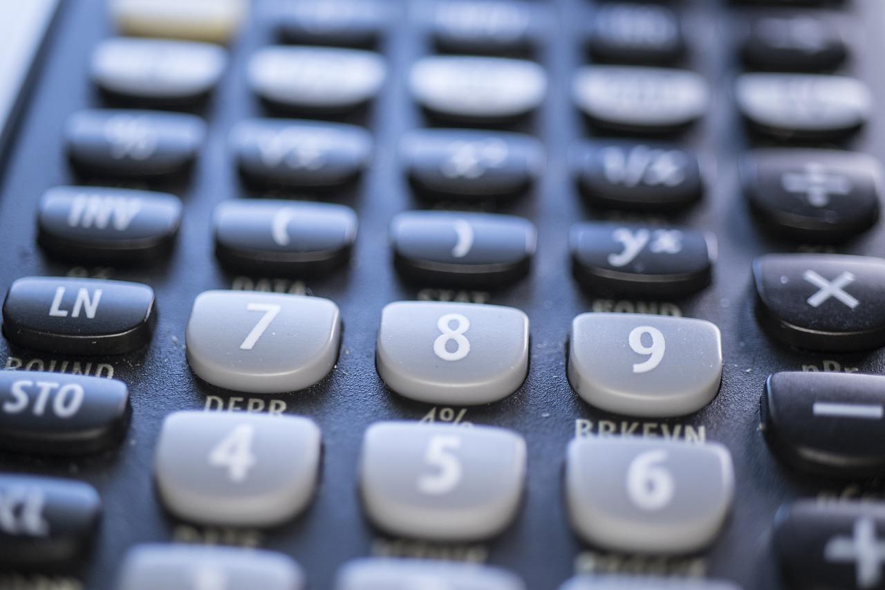 Calculator Mathematics Computation  - A1_Moments_AU / Pixabay